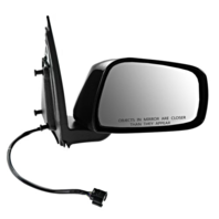 Fits 05-12 Nissan Pathfinder Right Passenger Power Mirror Smooth W/Heat / Memory