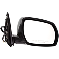 Fits 05-07 Murano Right Pass Power Mirror Unpainted W/Heat, Mem No  Entry