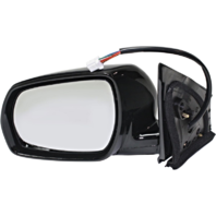 Fits 05-07 Murano Left Driver Pwr Mirror Unpainted With Ht, Memory,  Entry