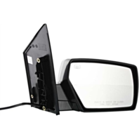 Fits 04-09  Quest Right Pass Power Mirror Unpainted W/Ht No Mem Or Puddle