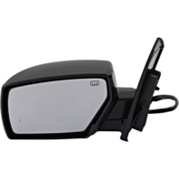 Fits 04-09  Quest Left Driver Power Mirror Unpainted W/Ht/Memory No Puddle