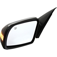 Fits 07-12  Altima Sedan Left Driver Power Mirror W/Heat And Signal