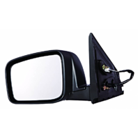 Fits 08-13 Rogue Left Driver Power Mirror Unpainted With Heat No Side Camera