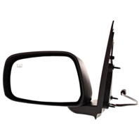 Fits 05-12 Pathfinder 05-16 Frontier Left Driver Text Power Mirror W/Ht Man Fold