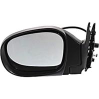 Fits 11/00-04 Pathfinder Left Driver Power Mirror Textured Black W/Heat