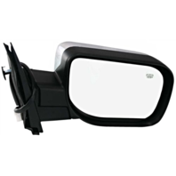 Fits 04-15 Titan / Armada Right Pass Chrome Power Mirror W/Ht, Sing Arm, ManFold