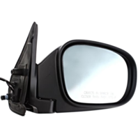 Fits From 11/00-03 INF QX4 Right Pass Power Mirror Unpainted W/Heat, Blue Glass