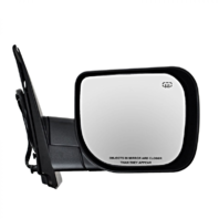 Fits 04-10 QX56 Right Pass Textured Power Mirror W/Heat, Single Arm, Man Fold