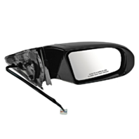 Fits 09-14 Maxima Right Pass Power Mirror With Heat, Signal No Memory Or AutoDim