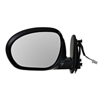 Fits 09-14  Cube Left Driver Textured Black Power Mirror With Heat
