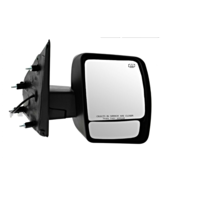 Fits 12-17  NV Right Passenger Power Mirror Chrome W/Heat Manual Fold