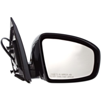 Fits 09-14  Murano 4 Door Right Pass Power Mirror Unpainted W/Heat/Memory