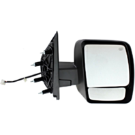Fits 12-13  NV Right Pass Power Mirror W/Heat No Towing Package Textured