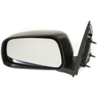 Fits 05-16 Frontier 09-13 Equator Left Driver Manual Mirror Man Fold Textured