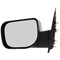 Fits 04-10  QX56 Left Driver Manual Mirror Textured Black