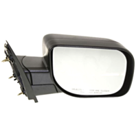 Fits 04-14  Titan / Armada Right Passenger Manual Mirror Textured Black