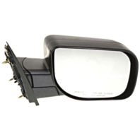 Fits 04-10  QX56 Right Passenger Manual Mirror Textured Black