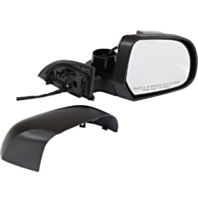 Fits 11-12 Nissan Leaf Right Passenger Power Mirror Unpainted No Heat