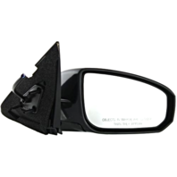 Fits 04-08 Maxima Right Pass Power Mirror Unpainted With Manual Fold No Heat/Mem