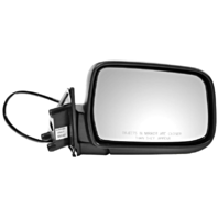 Fits 00-04  Xterra Right Passenger Power Mirror Manual Fold Textured Back