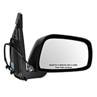 Fits 05-16 Frontier 09-13 Equator Right Pass Power Mirror Unpainted Manual Fold