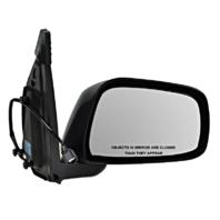 Fits 05-12 Pathfinder 05-15 Xterra Right Pass Power Mirror Unpainted Manual Fold