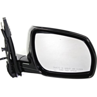 Fits 05-07 Murano Right Pass Power Mirror Unpainted With Memory No Ht/Entry