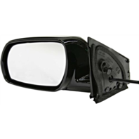 Fits 05-07 Murano Left Driver Power Mirror Unpainted No Heat/Memory/ Entry