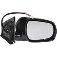 Fits 05-07 Murano Right Pass Power Mirror Unpainted W/Mem,  Entry No Heat