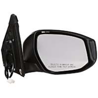 Fits 13-15  Sentra Right Passenger Power Mirror Unpainted No Heat Or Signal