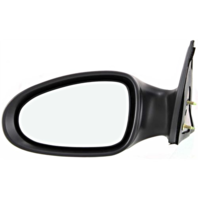 Fits 05-06  Altima Left Driver Power Mirror Smooth Black Cover No Heat