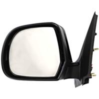 Fits 12-14 Nissan Versa Sedan Left Driver Power Mirror Unpainted No Heat