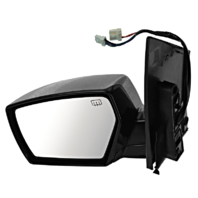 Fits 04-09 Nissan Quest Left Driver Power Mirror W/Heat, Memory, Puddle Lamp