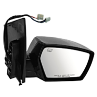 Fits 04-09 Quest Right Passenger Power Mirror Smooth W/Heat/Puddle Lamp NO Mem