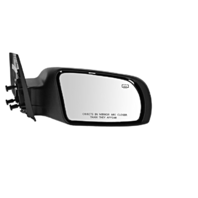 Fits 08-13 Altima Coupe Right Pass Unpainted Power Mirror W/Heat And Signal