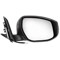 Fits 13-15  Altima Sedan Right Pass Unpainted Power Mirror W/Signal/Heat