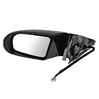 Fits 09-14 Maxima Left Driver Power MIrror Upainted W/SIgnal, Mem No Ht,AutoDim