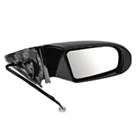 Fits 09-14 Maxima Right Pass Power Mirror Unpainted W/Signal, Mem No Ht,AutoDim