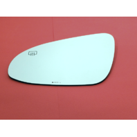 Fits 14-18 Toy Corolla Left Driver Mirror Glass Lens Heated w/o rear Holder