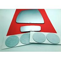 Fits 15-18 Ram Promaster City Left Upper & Lower Mirror Glass Lens  w/ Adhesive