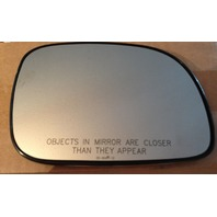 Fits 00-07 Caravan Town & Country Voyager Right Pass Mirror Glass w/Rear Holder OE