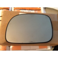 Fits 96-06 Caravan Town & Country Left Dr Mirror Glass Heated w/rear Holder OE