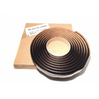 "Auto Glass Seal, Adhesive, Butyl Tape 10' Roll Soft Seal 5/16"" round ME825"