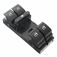 Window Switch Left Driver Master 5 Button 7 Pin For Various VW Models see Details