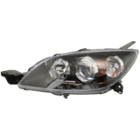 Fits 04-09 Mazda 3 Hatchback (excludes Mazdaspeed) Left Driver Halogen Headlamp