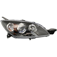 Fits 04-09 Mazda 3 Hatchback (excludes Mazdaspeed) Right Pssngr Halogen Headlamp