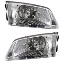 Fits 00-02 Mazda 626 Left & Right Headlamp Assemblies - pair