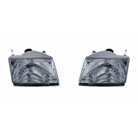 Fits 01-10  Pickup Left & Right Headlamp Assemblies - pair