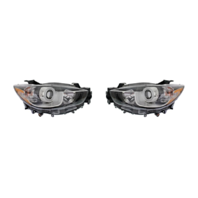 Fits 13-16  CX-5 LEFT & RIGHT SET HALOGEN HEADLAMP ASSEMBLIES