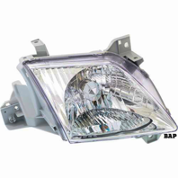 Fits 00-01  MPV RIGHT PASSENGER HEADLAMP ASSEMBLY